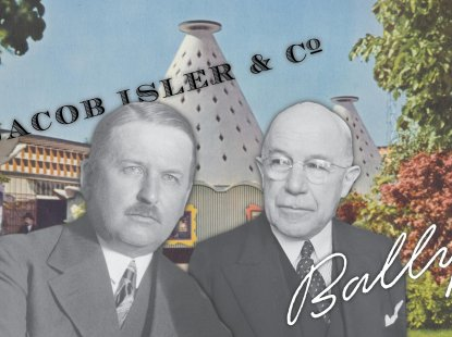 The manufacturers Johann Rudolf Isler and Iwan Bally