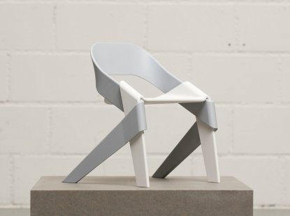 """Winso"" (chair inspired by a rustic plait) by Tobias Hirt. © Tobias Hirt"